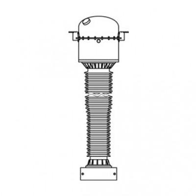 Трансформатор тока элегазовый с фарфоровой изоляцией ТОГФ-330 (УХЛ1)